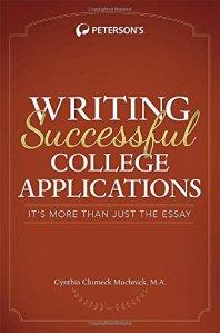 WritingSuccessfulCollegeApplications