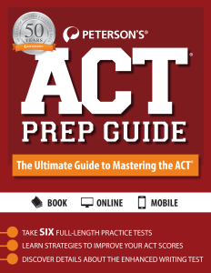 Guide to Mastering the ACT