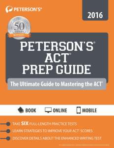 Petersons ACT Prep Guide_NonDVD_FrontCover